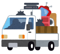 廃品回収車 (2)